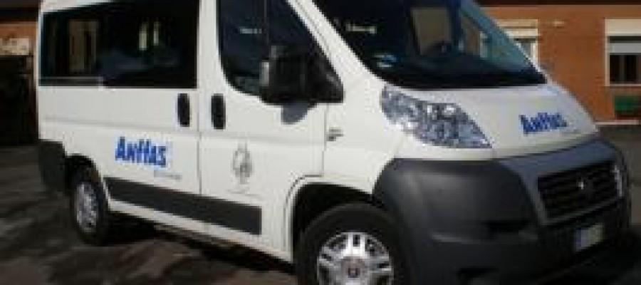 L'associazione ANFFAS inaugura il furgone acquistato con il contributo della Fondazione Cassa di Risparmi di Livorno