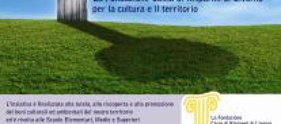 Quinta Settimana dei Beni culturali ed ambientali