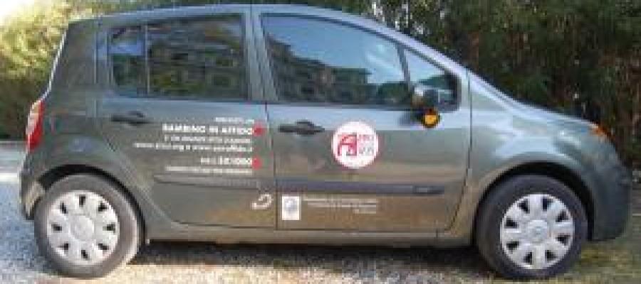 """L'associazione """"Amici della Zizzi"""" inaugura l'auto acquistata grazie al contributo della Fondazione Cassa di Risparmi di Livorno"""