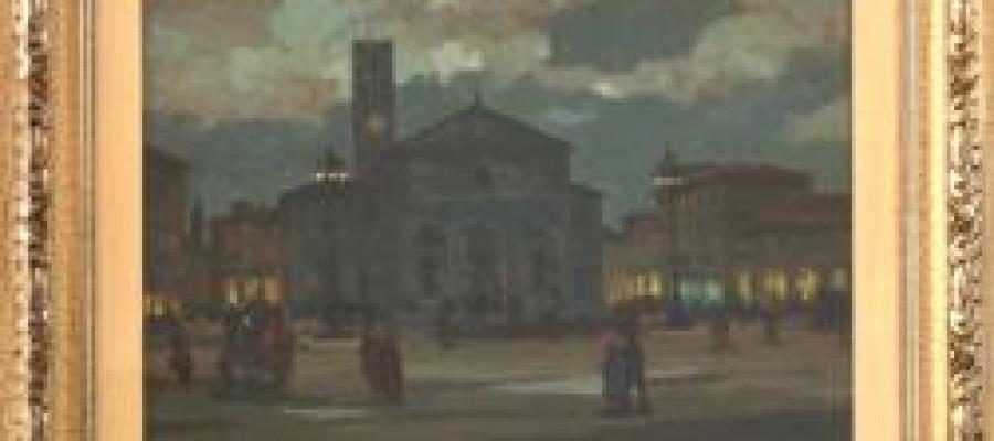 """I quadri della Fondazione in """"Via Grande in scena"""""""