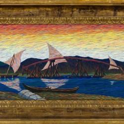 La collezione di opere d'arte