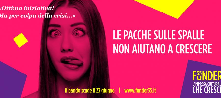 E' online il bando FUNDER 35: Nuove opportunità per le organizzazioni culturali no-profit