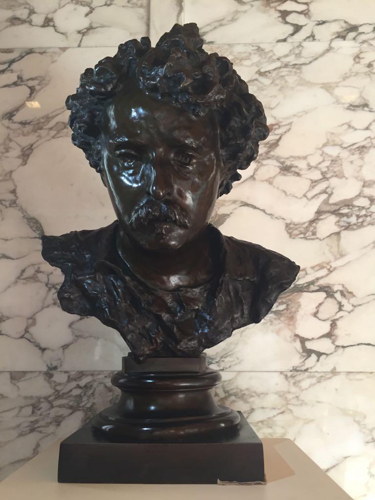"""Donazione del busto di """"Mariano Fortuny"""" in ricordo del prof. Carlo Venturini"""