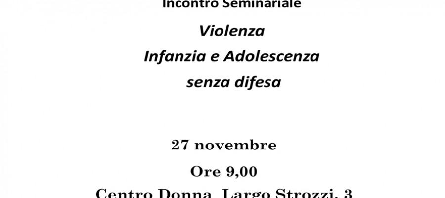 Violenza sulle donne, un brutto spettacolo per i figli. Un seminario al Centro Donna di Livorno