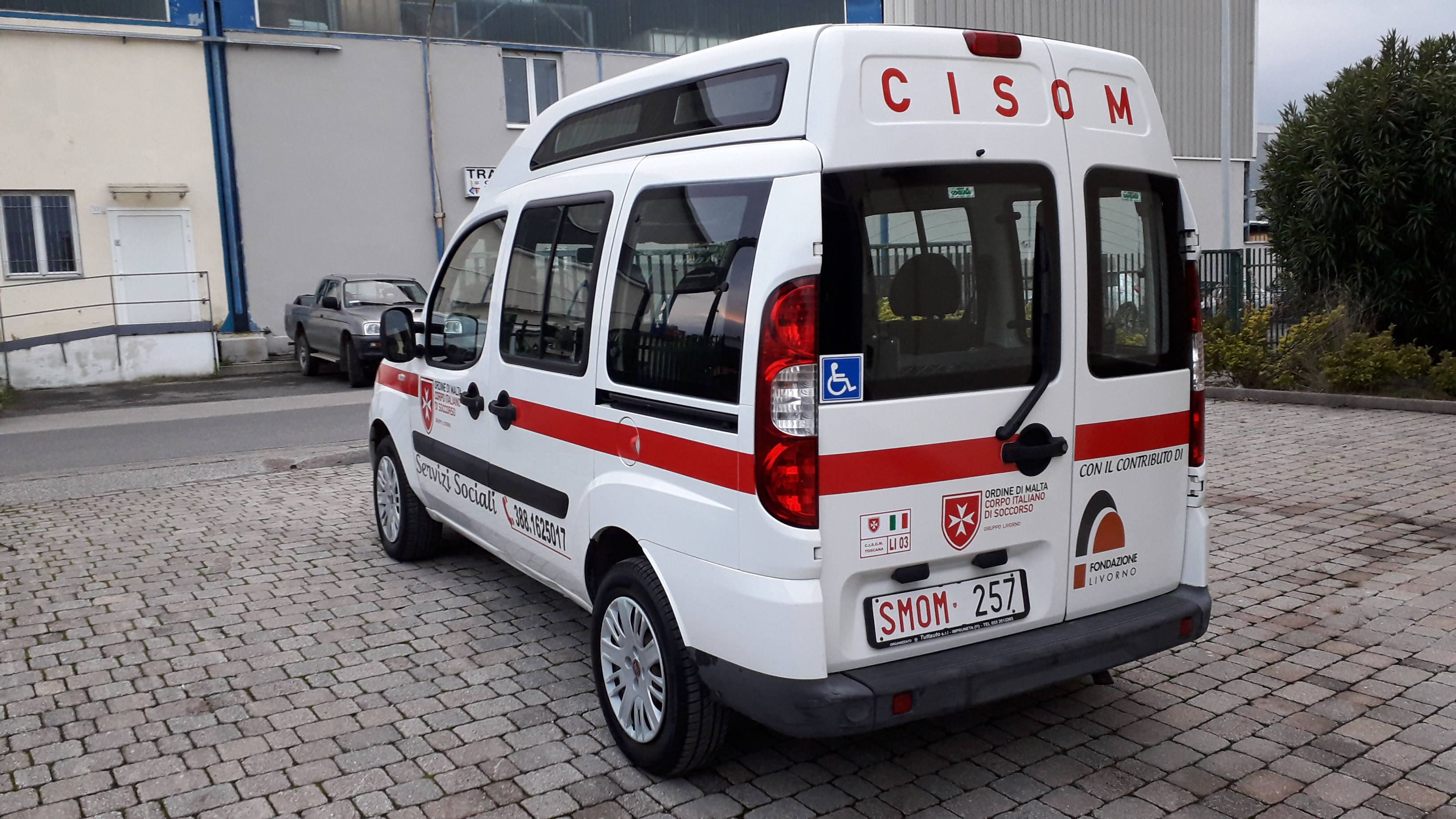 """Presentazione """"Cisom con te"""" il nuovo servizio di trasporto sociale"""