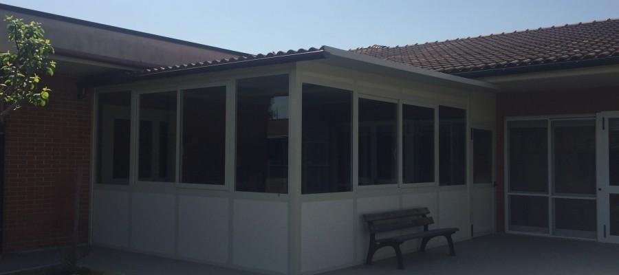 Una veranda per le case famiglia della Fondazione Luigi Scotto