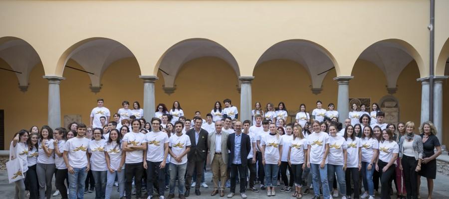 105 giovani volontari collaborano alla riuscita del Festival sull'Umorismo a Livorno