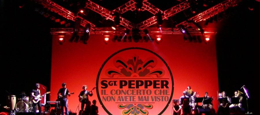 Sgt Pepper al Teatro Goldoni, mercoledì 7 novembre ore 21